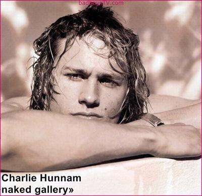 Charlie Hunnam naked