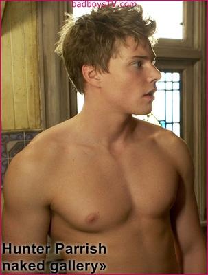 Hunter Parrish naked